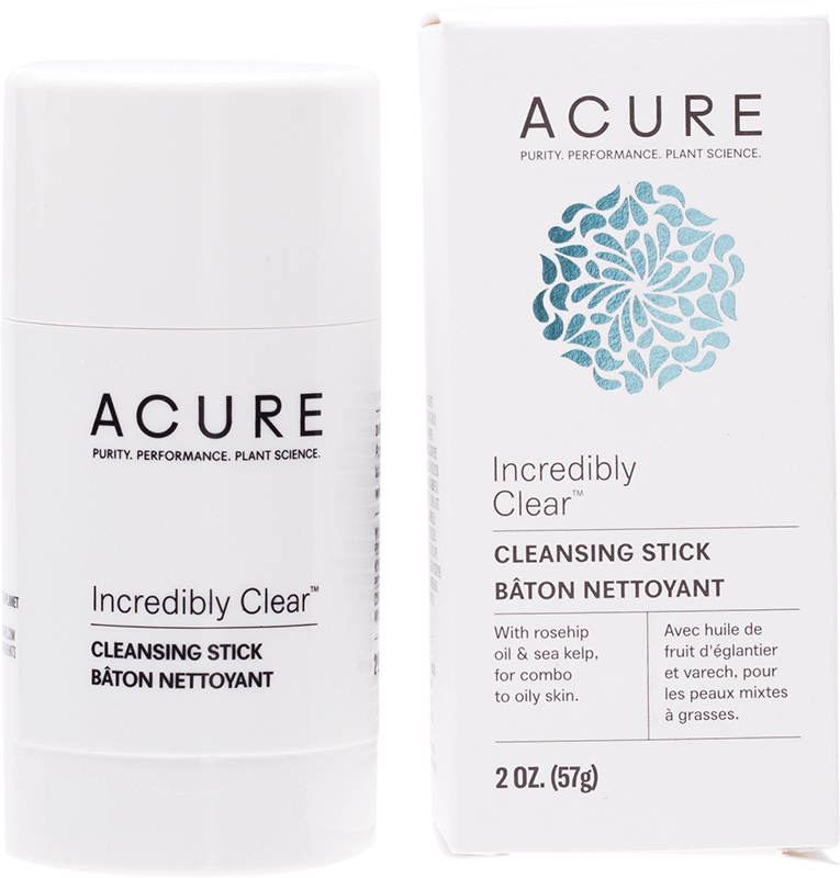 Acure Incredibly Clear Cleansing Stick 57ml